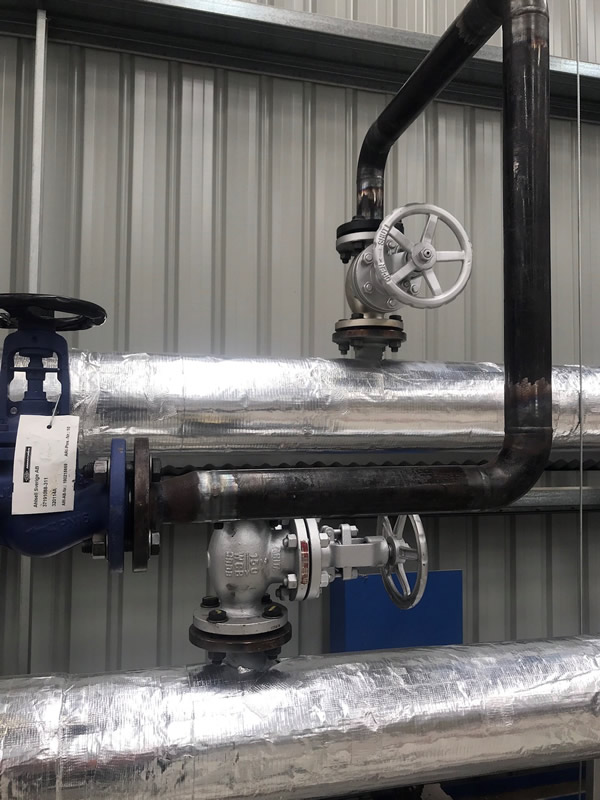 High Pressure Steam and Condensate